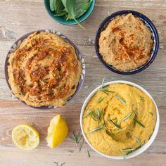 Three Types of Hummus