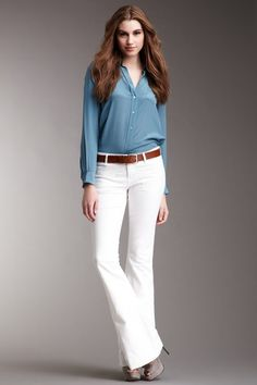 love some flared jeans!
