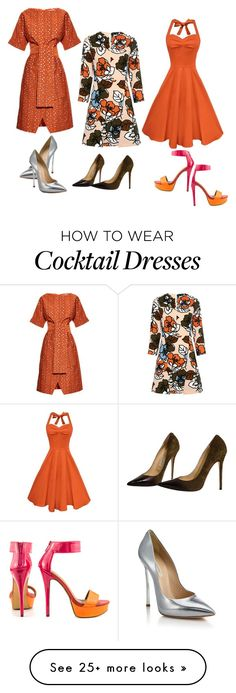 """""""Untitled #3907"""" by bbossboo on Polyvore featuring Paul & Joe Sister, Osman, Casadei, Jimmy Choo and Michael Antonio"""