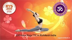 """Yoga means """"Addition"""", to add yourself in God. Yoga is a systematic and scientific creation which needs practise and unconcealed attitude.The Course is internationally certified with yoga alliance USA, RYS-200. Best for singles and couples. Also includes ayurveda, nutrition and healing therapy.     http://yogainrishikesh.in/"""