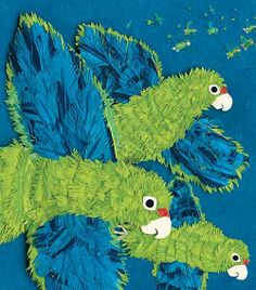 This Spotlight on Science Writers blog post focuses on Susan L. Roth and Cindy Trumbore, authors of Parrots Over Puerto Rico. This children's book is filled with amazing paper collages and tells the story of the Puerto Rican Parrot (and its intersections with the native Taíno people) and of the recovery effort that has brought this species back from the brink of extinction.