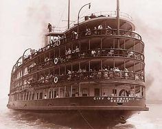 SS City of Detroit III - In service for 50 years