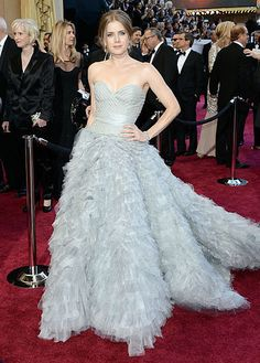 The top 10 red carpet dresses of 2013--> #9. Amy Adams