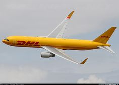 DHL G-DHLF Boeing 767-3JHF aircraft picture