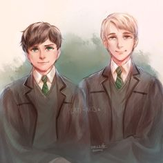 Albus and Scorpius by Raven wings