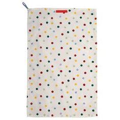 Polka Dot Tea Towel By Emma Bridgewater Kitchen Linens Sets, Emma Bridgewater, Nursery Inspiration, Tea Towels, Polka Dots, Cotton, Ebay, Haiku, Circles