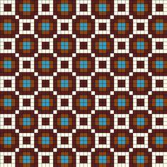 Africa Perler Bead Pattern / Bead Sprite