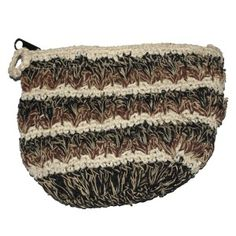 Hemp and cotton coin purse