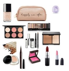 """What's in my makeup bag"" by jcqtwilliams on Polyvore featuring beauty, Deux Lux, Eos, MAC Cosmetics, Chanel, Bobbi Brown Cosmetics, Marc Jacobs and Jouer"