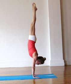 10 Yoga Poses for Confidence how to handstand tips