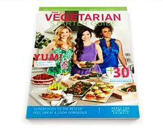 It's never too late to start saving money and exploring new cuisine by eating vegetarian. Order your FREE Vegetarian Starter Guide today.