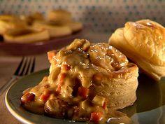 Shrimp Pot Pie...yummy! FYI...I add lobster too!