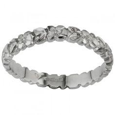 Engraved Platinum Wedding Ring