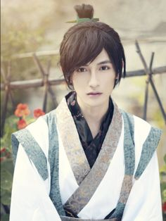 Chinese cosplay and traditional fashion Nathaniel★Hwang】 自截 黄靖翔 手机屏幕( Chibi Characters, Beautiful Costumes, Asian Hotties, Traditional Fashion, Attractive People, Actor Model, Hanfu, Best Cosplay, Beautiful Boys
