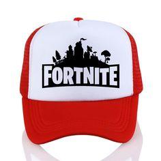 90194713dd909  First4Fashion Fortnite 3d Print baseball cap Fashion Men women summer Mesh  cap trucker cap Kids