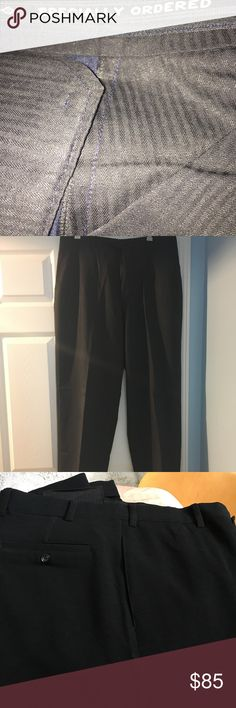 Fine tailored made men slacks designed in Dubai These fine slacks were tailored made in Dubai. Only worn once and dry cleaned. Excellent condition. Pants Dress