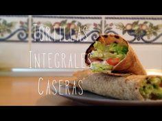 Tortitas/Tortillas integrales caseras | Recetas Clean Eating - YouTube
