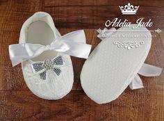 Zapatos de bautismo de bebé bautizo zapatos de bebé por AdeliaJade