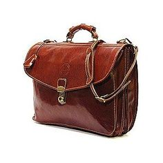 #9: Cenzo Italian Leather Briefcase Attache