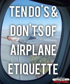 Travel: Ten Do's & D