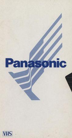 """typo-graphic-work:  """"Panasonic, VHS  """""""