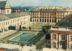 Pałac Prezydencki fot. 1957-1958, E. Kupiecki, źr. Pocztówka RUCH