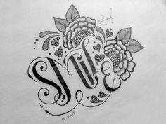 Lettering Sketches by Faheema Patel Doodle Art Drawing, Mandala Drawing, Pencil Art Drawings, Mandala Art, Cute Drawings, Drawing Sketches, Smile Drawing, Sketch Ink, Pen Art