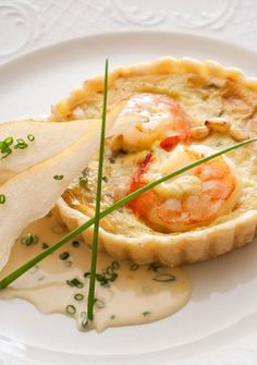 Stiton Shrimp Tarts - Elle & Vire Cooking/Whipping cream, Milkana Cream Cheese and Elle & Vire Butter
