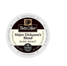 K-Cup® Pack 16-Count Peet's Coffee® Major Dickason's Blend Coffee, Free Shipping #PeetsCoffee