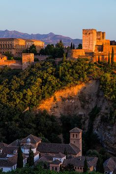 The Alhambra, Granada, Andalusie, Spanje