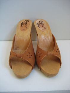Candie's Clogs...I had a pair!