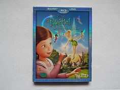 TinkerBell & the Great Fairy Rescue-Blu-ray/DVD2010 2-DiscSet)New with Slipcover