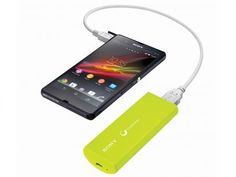 Carregador Portátil USB - Sony CP-V3A Verde com as melhores condições você…