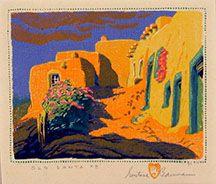 Gustav Baumann - Old Santa Fe