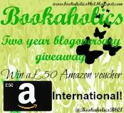 Bookaholics book club: Two year blogoversary giveaway