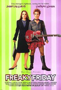 Freaky Friday (2003) Starring: Jamie Lee Curtis & Lindsay Lohan
