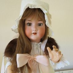 Antique Armand Marseille German doll 22 marked 390 A by Recologie, $99.00