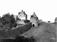 Hahnemuhle PHOTO RAG Fine Art Paper (other products available) - circa Ballygally Castle in County Antrim. (Photo by London Stereoscopic Company/Getty Images) - Image supplied by Fine Art Storehouse - Fine Art Print on Paper made in the UK Fine Art Prints, Framed Prints, Poster Prints, Canvas Prints, Camping Au Quebec, Castles In Ireland, Thing 1, London Art, Beautiful Buildings
