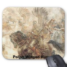 Polish Winged Hussar Mouse Pad