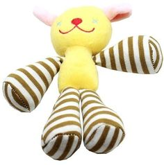 Long Legged Love Squeaky 8'' Pet Toy Doggie