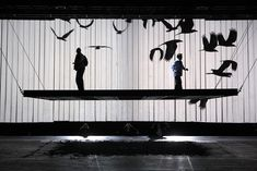 The Magic Flute. The Netherlands Opera and English National Opera and The Festival D'Aix. Scenic design by Michael Levine. 2012