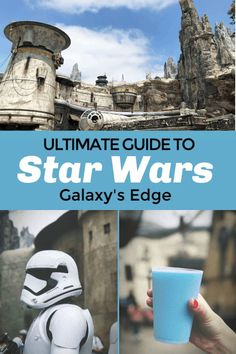 Click for the ultimate guide to Star Wars Land in Disneyland- Galaxy's Edge. Find out the best things to do, eat, and ride at Star Wars Galaxy's Edge in Disneyland! #disneyland #starwars #galaxysedge