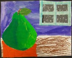 Artsonia Art Gallery - 2ND PEAR COLLAGE '11-'12