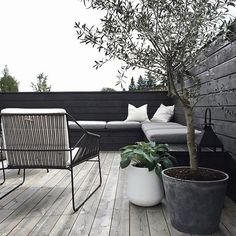 Its so nice to finally use our terrace again stylizimohouseoutdoors uterom oliventre hosta terrasse Outdoor Lounge, Outdoor Spaces, Outdoor Living, Outdoor Decor, Wall Exterior, Interior And Exterior, Pintura Exterior, Patio Doors, Wooden Walls