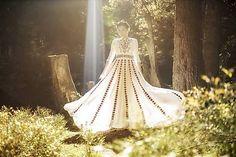 Saténové svadobné šaty Slavianka