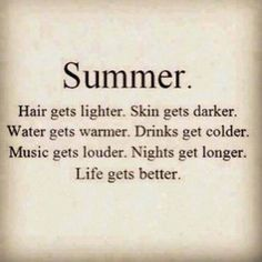 """☼ Summer ... also, as Oscar Hammerstein once said """"You can feel it in your heart, you can see it in the ground... you can see it in the trees, you can smell it in the breeze... look around... June is busting out all over!"""" Summer Solstice is June 21st ... Enjoy the Season!"""