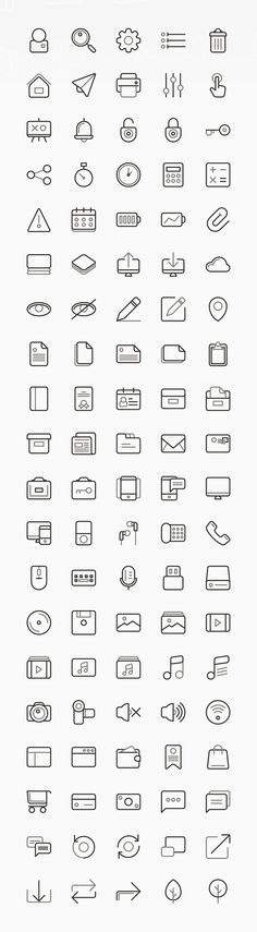 TwoGrey Icons Set