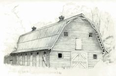 Pencil Drawings of Old Houses | ... pencil sketch finished pieces are pencil on paper and are not matted