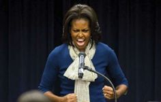 [A legend in her own mind]...Thanks to Michelle Obama, Chick-fil-A Banned from School