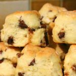 If you liked my Easy Scone Recipe you are going to love these Easy Fruit Scones! They're packed with fruit, simple to make, and only need 5 ingredients! Brunch Recipes, Dessert Recipes, Party Desserts, Sultana Scone Recipe, Fruit Scones, Baking Recipes, Bread Recipes, Biscuit Recipe, Delicious Chocolate